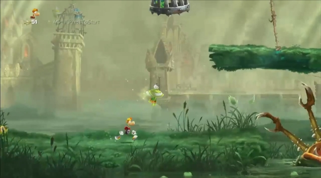 Rayman Legends Gameplay Screenshot Exclusively On Wii U