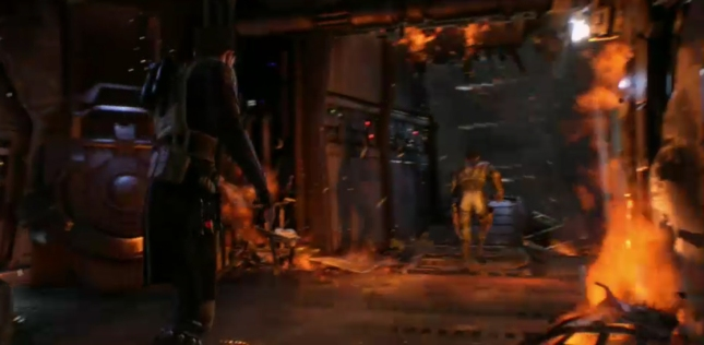 Star Wars 1313 Fire and Flame Screenshot