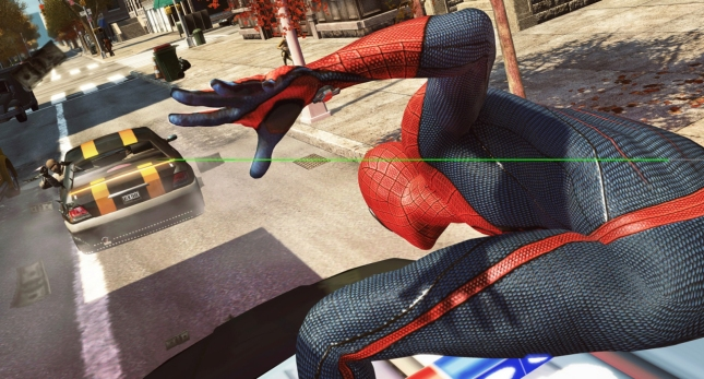 The Amazing Spider-Man Videogame Gameplay Screenshot