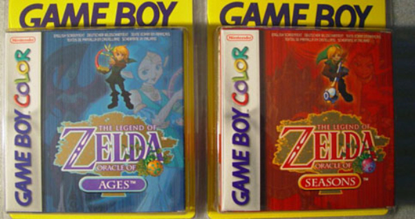 Zelda Oracle of Ages and Seasons Sealed