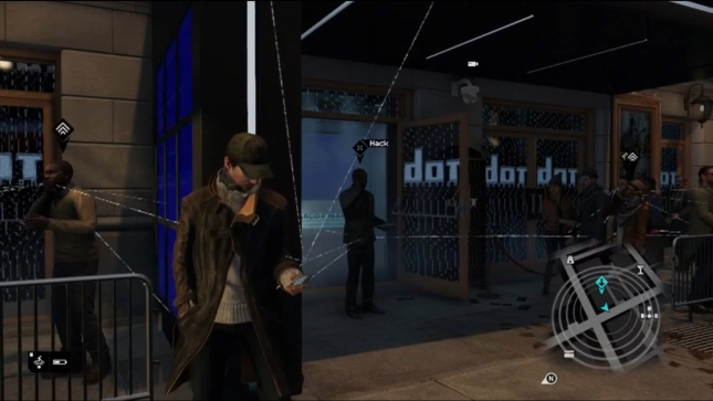 Watch Dogs Gameplay Screenshot (Ubisoft E3 2012)