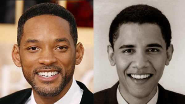Will Smith and Young Obama. Could Will Smith Play Obama In A Movie?
