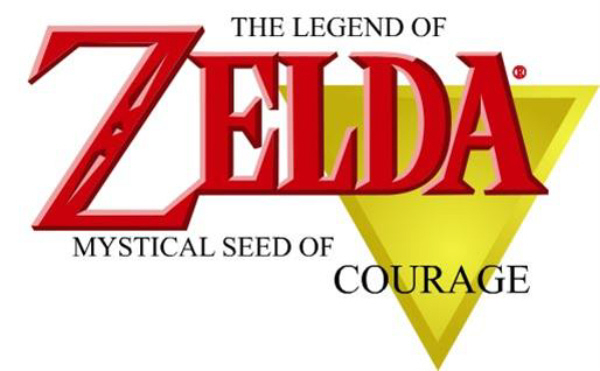 Zelda Mystical Seed of Courage Logo (Cancelled)