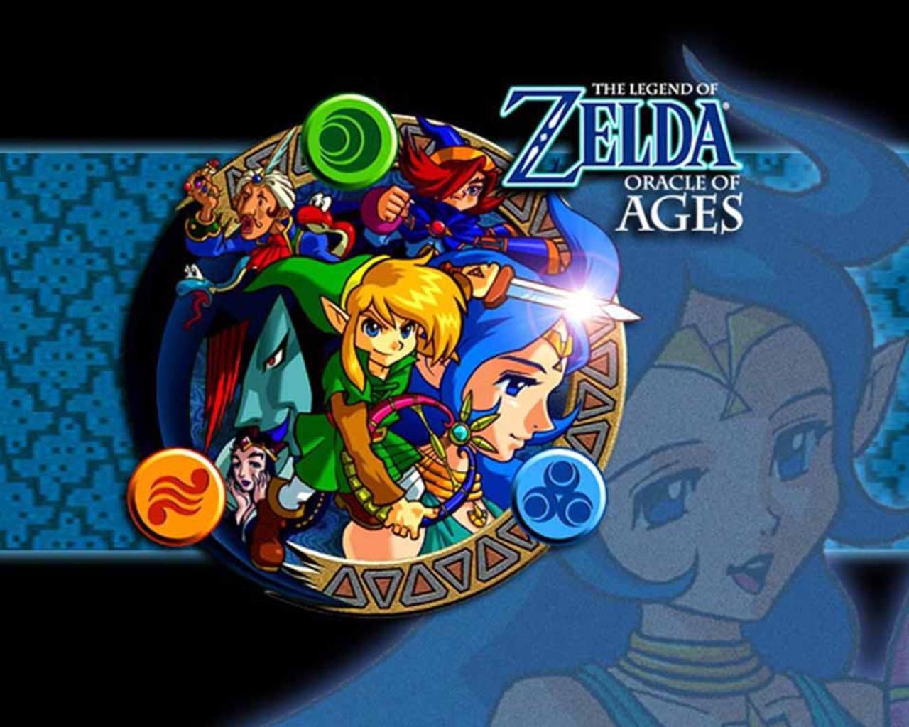 Game boy color legend of zelda - Oracles Of Ages Wallpaper