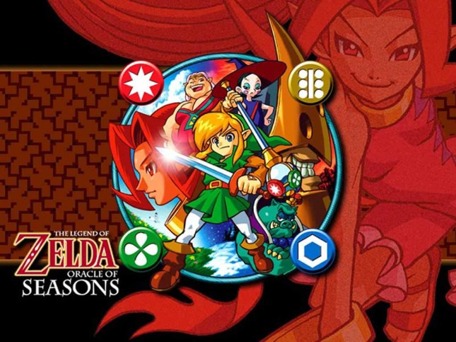 Zelda Oracle of Seasons Wallpaper
