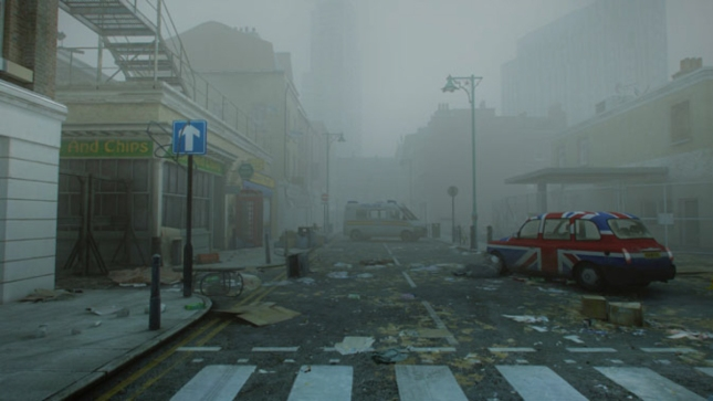 ZombieU Destroyed Streets of London Screenshot