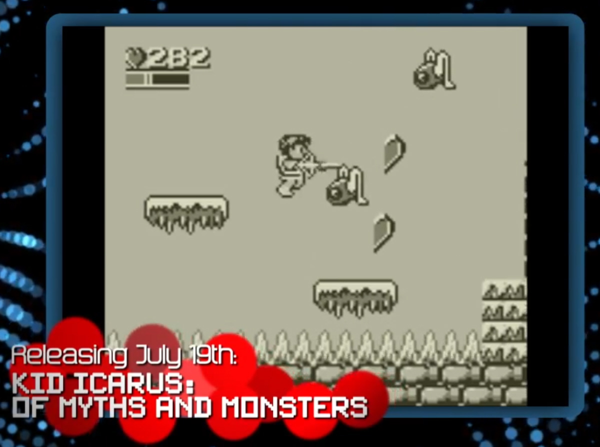 8bit Summer Kid Icarus Of Myth And Monsters 3DS Virtual Console EShop Screenshot