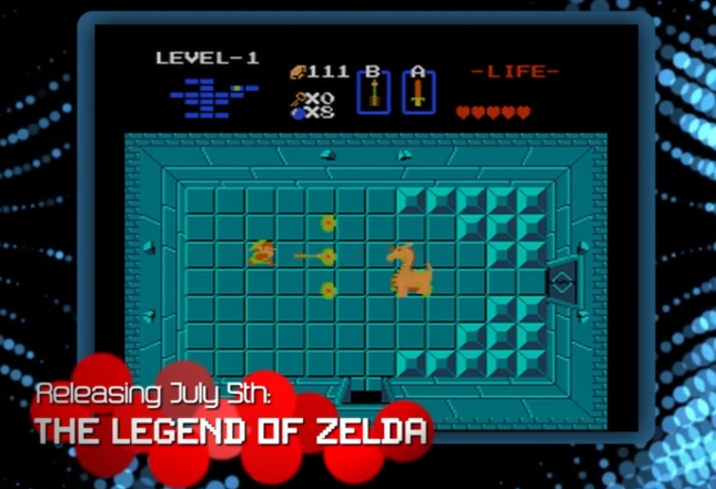 8bit Summer The Legend of Zelda 1 (3DS Virtual Console eShop Screenshot)