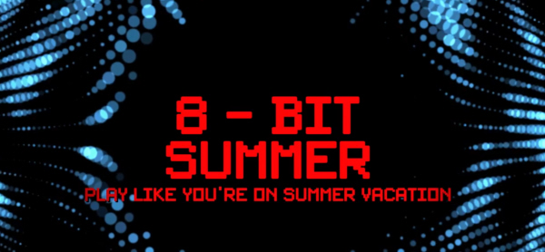 Summer of 8bit 3DS Virtual Console Initiative Logo