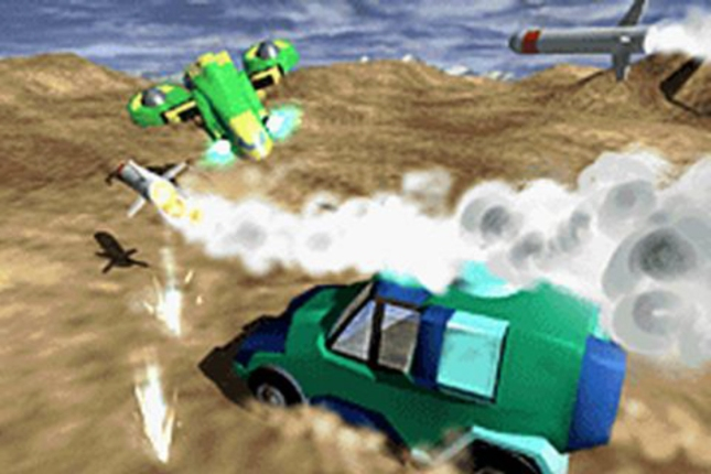Car Battler Joe Car On Car Combat Artwork
