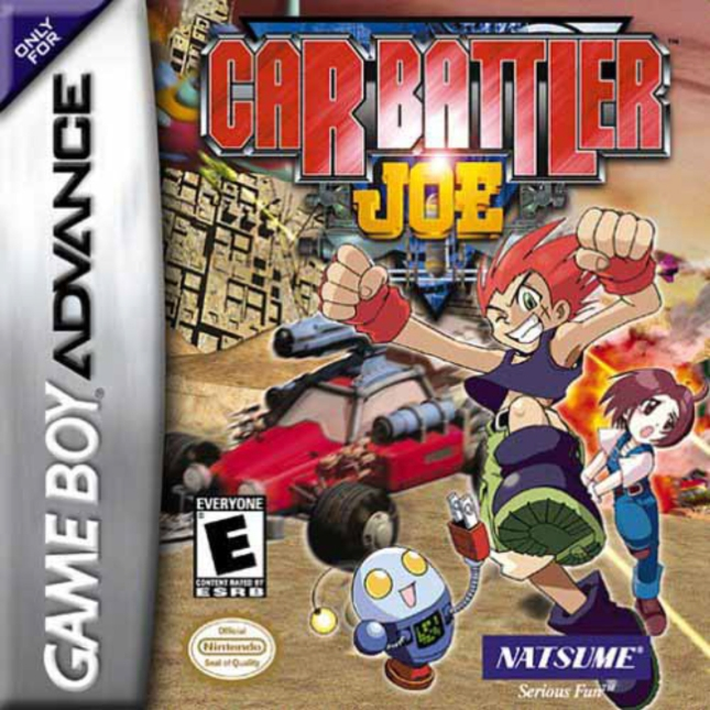 Car Battler Joe Box Artwork (Game Boy Advance)