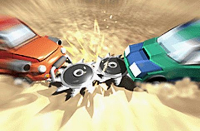 Car Battler Joe Battlebots Cutscene Screenshot Art