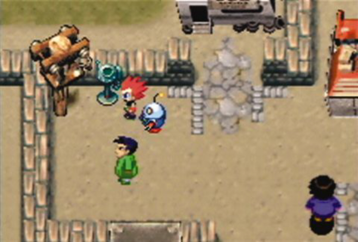 Gameboy color and advance rpg games - Car Battler Joe Rpg Exploration Gameplay Screenshot