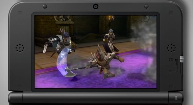 Fire Emblem: Awakening Battle Screenshot Gameplay (3DS)