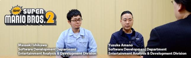 New Super Mario Bros. 2 Iwata Asks Interview