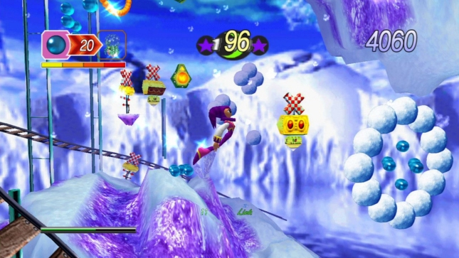 Nights Into Dreams HD Gameplay Screenshot