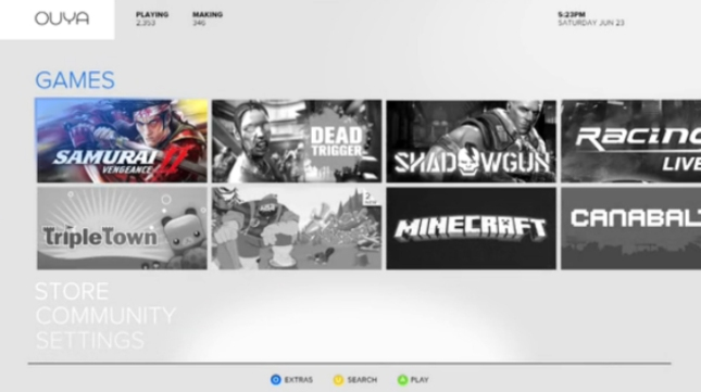 Ouya Games (Unconfirmed)