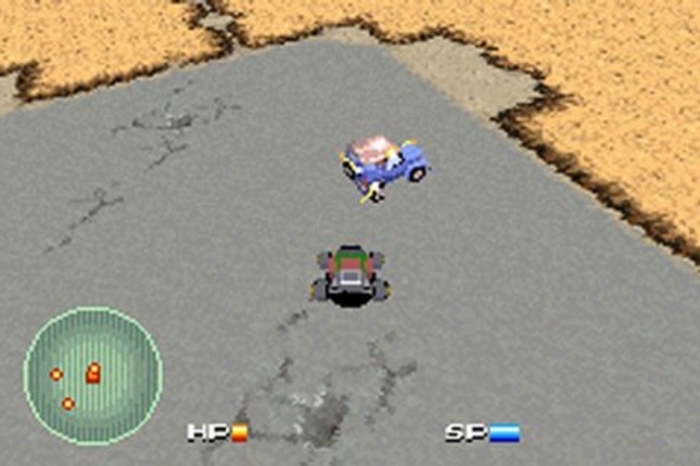 Pokemon Cars in Car Battler Joe Combat Gameplay Screenshot