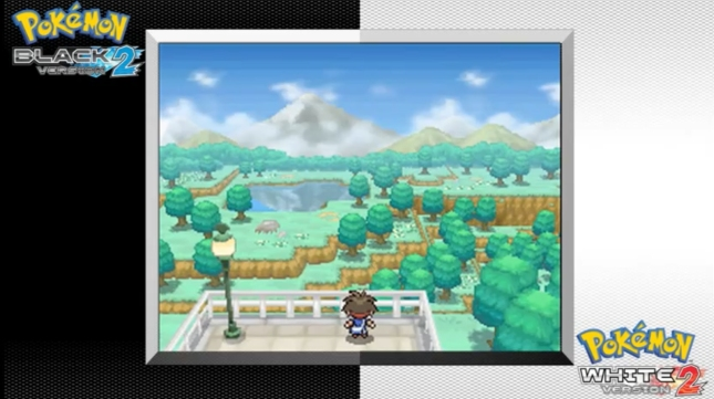 Pokemon Black 2 and White 2 Gameplay Screenshot (DS)