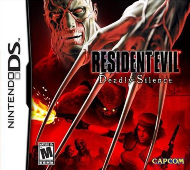 Resident Evil: Deadly Silence Cover Box Art