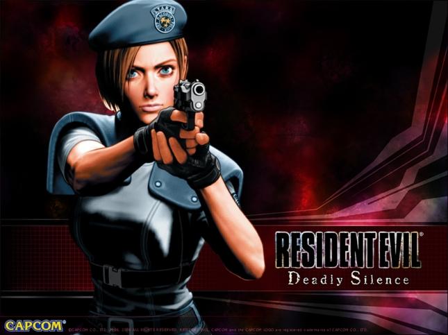 Resident Evil: Deadly Silence Wallpaper Jill Valentine