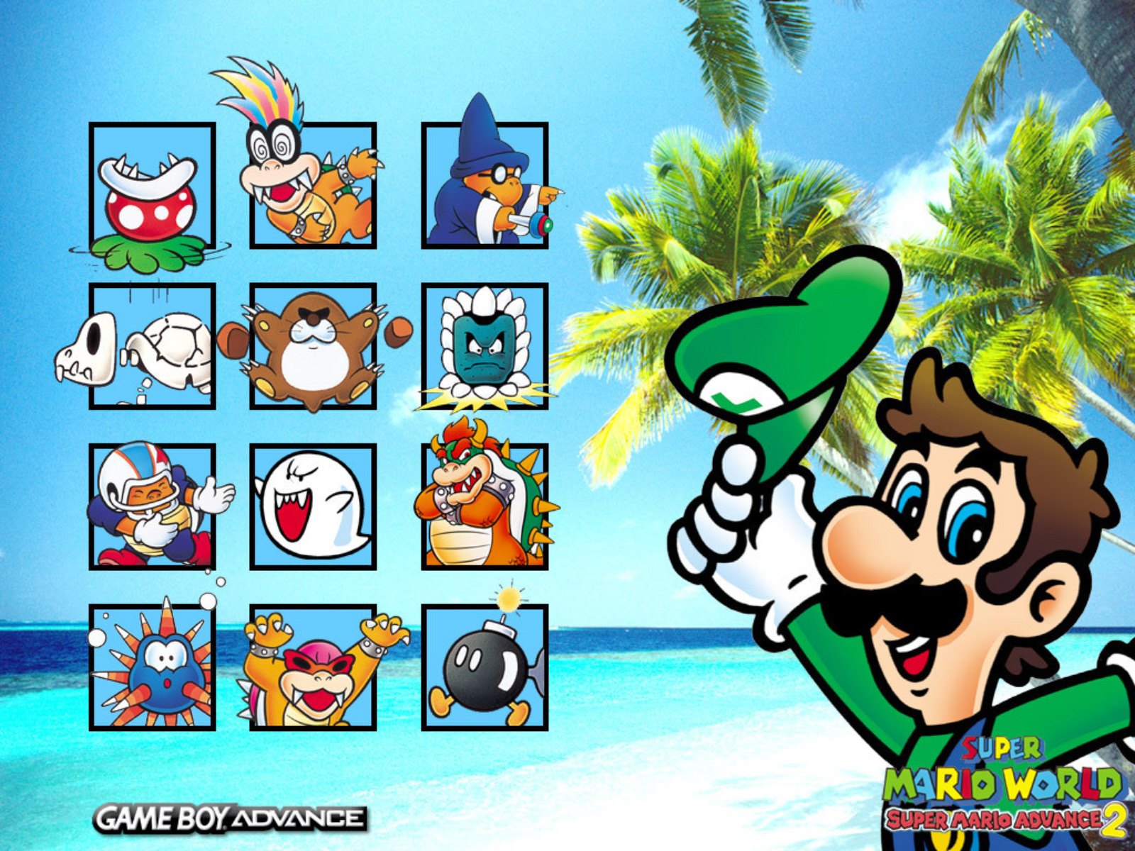 Super mario world 2012 re playing marios 16bit masterpiece super mario world luigi wallpaper altavistaventures Gallery