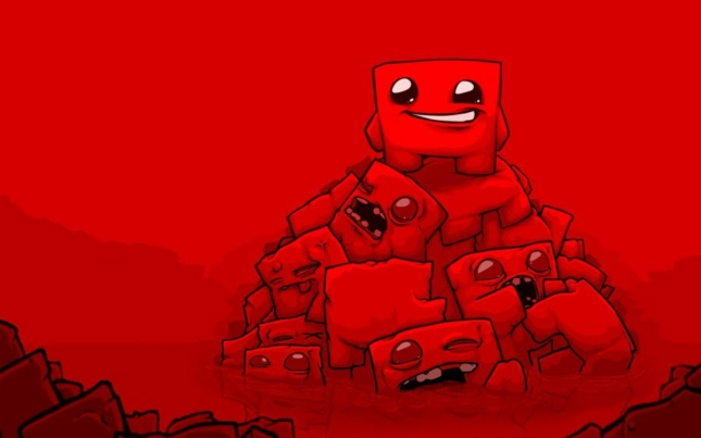 Super Meat Boy Deaths and Zombies Wallpaper By AndyofcomixInc