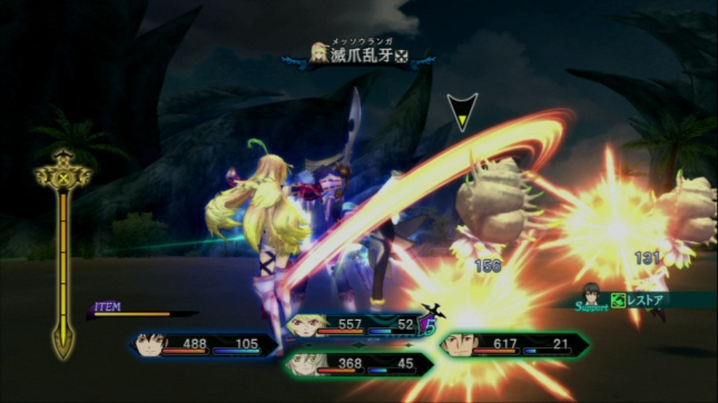 Tales of Xillia Battle Gameplay Screenshot (PS3)