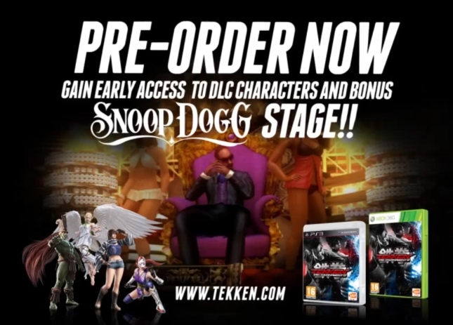 Tekken Tag Tournament 2 Snoop Dogg Pre-Order Bonus Extra Stage