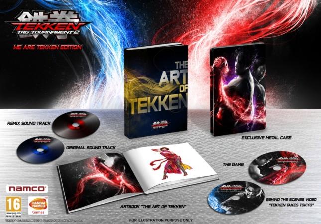 Tekken Tag Tournament 2 We Are Tekken Special Collector's Edition Set