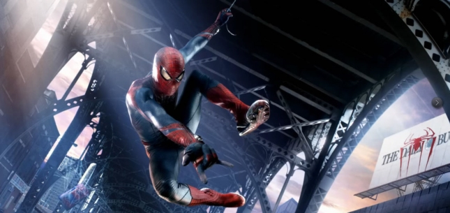 The Amazing Spider-Man Movie Superhero Wallpaper