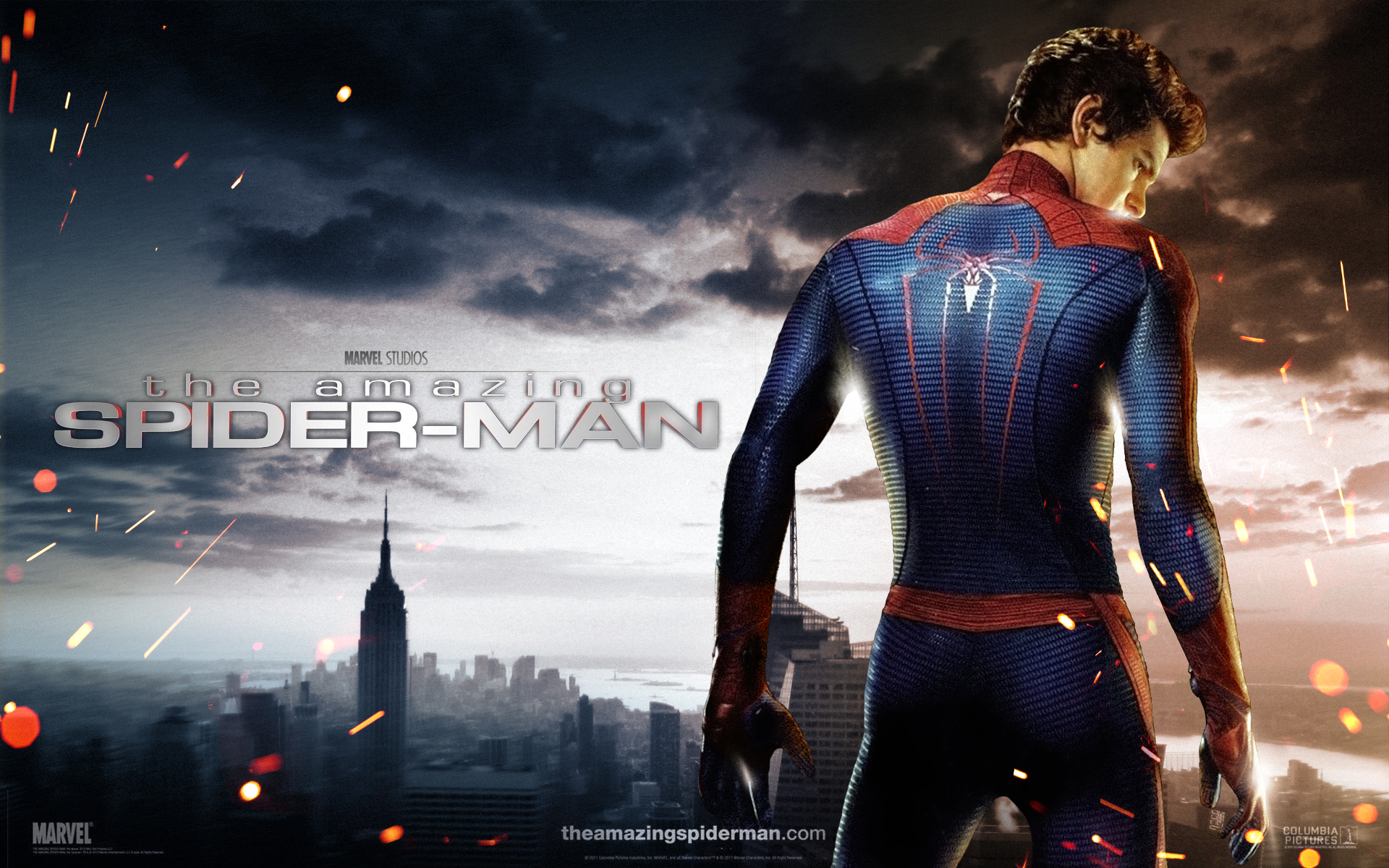 The Amazing Spider Man Wallpaper Of Reboot Andrew Garfield Peter Parker