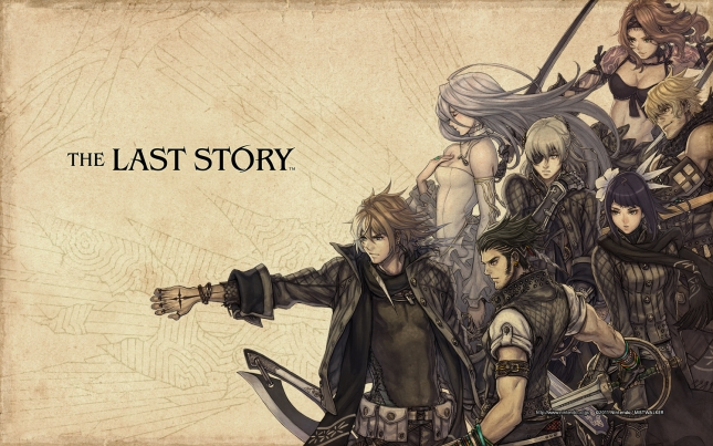 The Last Story Characters and Cast Wallpaper For Wii RPG