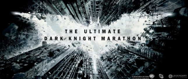 The Ultimate Batman Dark Knight Trilogy Marathon Art