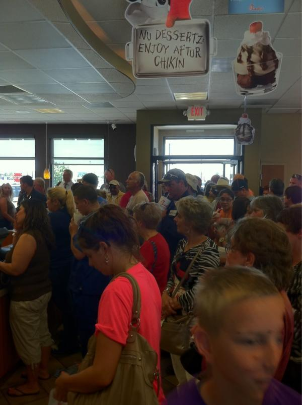 ChickfilA Appreciation Day Baytown Texas