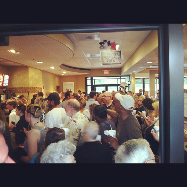 ChickfilA Appreciation Day Lines