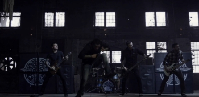 DAT FOOTSTOMP is epic! For Today Fearless Music Video Band Pic