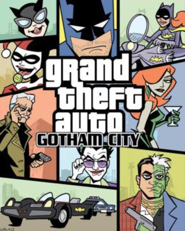 Grand Theft Auto: Gotham City