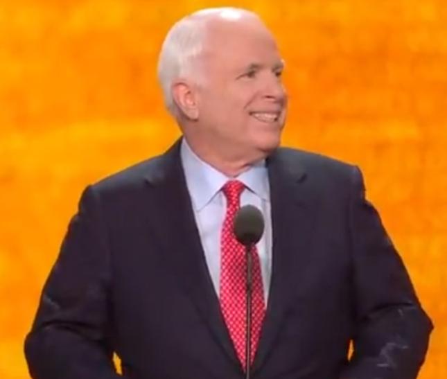 John McCain RNC2012 Speech Photo Pic