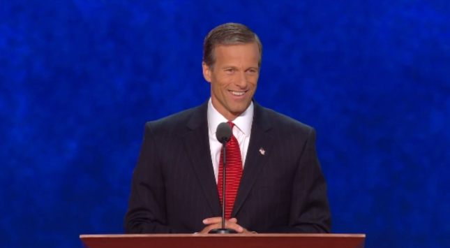 John Thune RNC2012 Speech Photo From South Dakota Senator