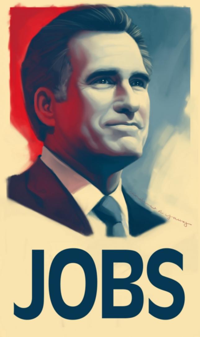 President Romney Jobs Poster 2012
