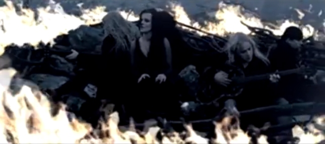 Nightwish Islander Fire Ring Music Video for Metal Band (Screenshot)