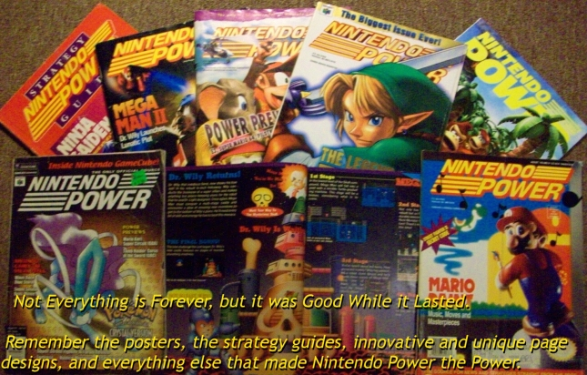 Nintendo Power Magazine History
