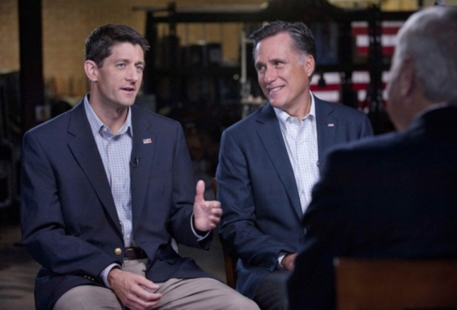 Paul Ryan Interview With Mitt Romney. Vice President 2012 Together