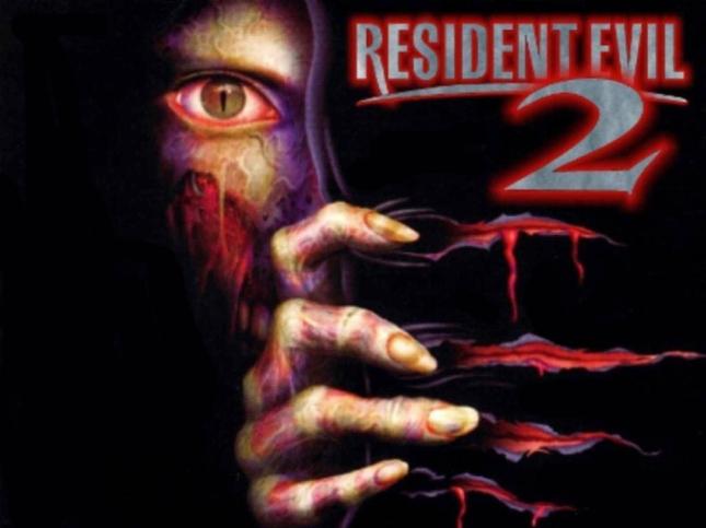Resident Evil 2 Wallpaper Cover Art