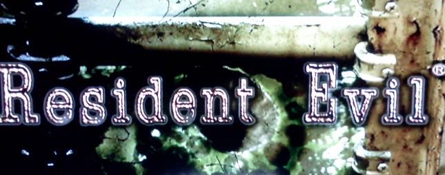Resident Evil Remake Eye Titlescreen (Game Beaten)