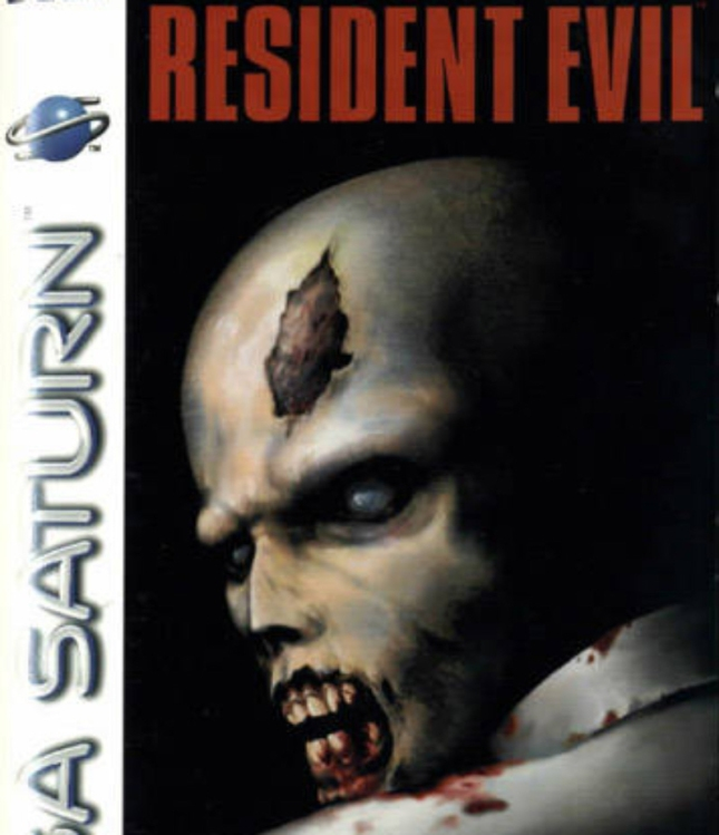 Resident Evil Saturn Box Art Cover
