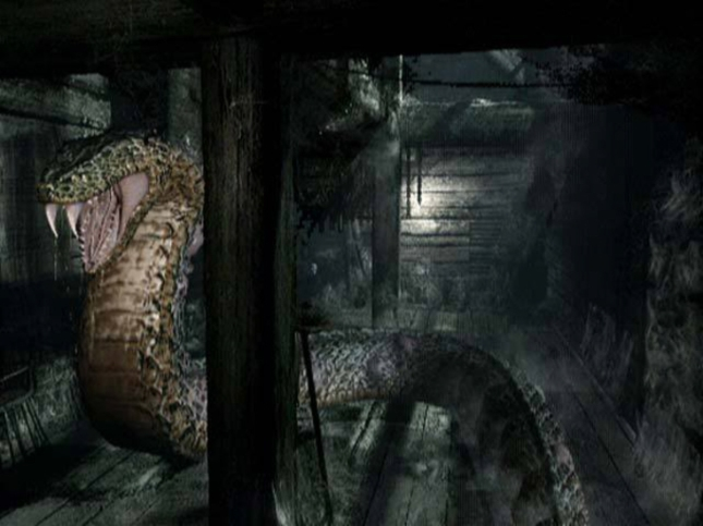 Resident Evil Serpent. Classic Manifestation of Evil