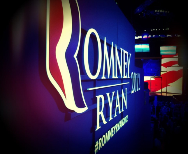 Romney Ryan 2012 Sign