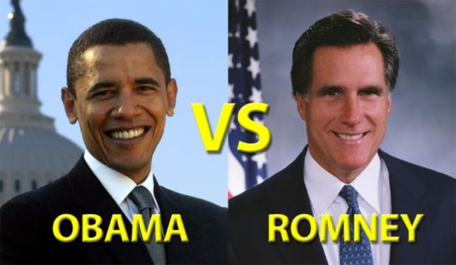 Romney vs Obama 2012
